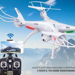 Videosorveglianza e Antintrusione, solo Comelit ti regala un Drone con radiocomando