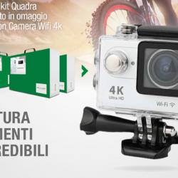 Acquista un Kit Quadra della Comelit, avrai in omaggio un Action Camera