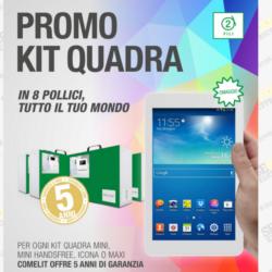 Scopri la Promozione Kit Quadra che ti omaggia ad ogni acquisto