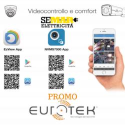 Videocontrollo e Confort, scattano le Promo Eurotek