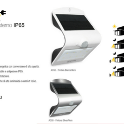 Applique solare da esternoIP65 In Promozione
