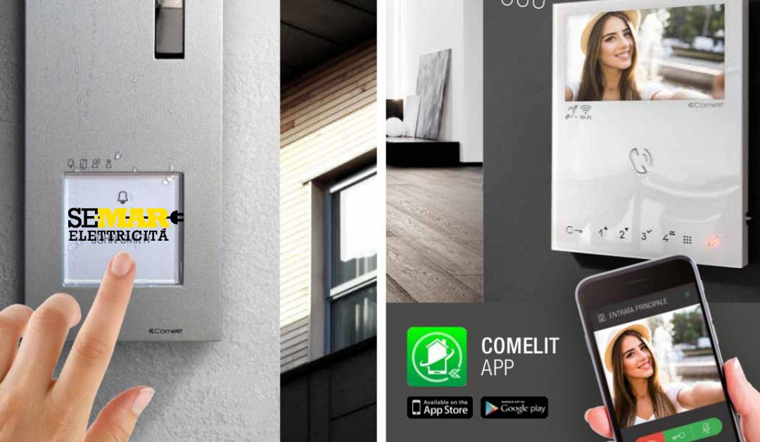 Visto di Comelit: alta tecnologia e design innovativo