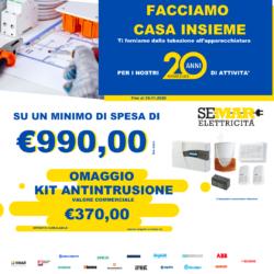 Promozione materiale elettrico con Omaggio di €370